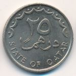 Катар, 25 дирхамов (1973–1998 г.)