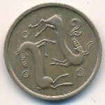 Кипр, 2 цента (1985–1988 г.)