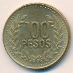 Колумбия, 100 песо (2009 г.)