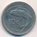 Мальта, 10 центов (1991 г.)
