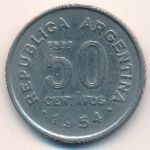 Аргентина, 50 сентаво (1954 г.)