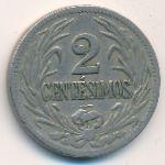 Уругвай, 2 сентесимо (1924 г.)