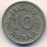 Исландия, 10 эйре (1940 г.)