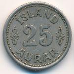 Исландия, 25 эйре (1940 г.)