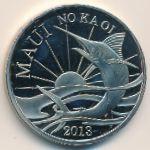 Гавайские острова, 2 доллара (2013 г.)