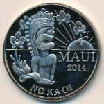 Гавайские острова, 2 доллара (2014 г.)