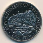 Острова Питкэрн, 1 доллар (1990 г.)