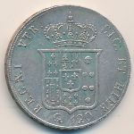 Неаполь и Сицилия, 120 гран (1853 г.)