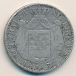 Саксония, 1 талер (1852 г.)