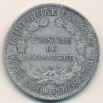 Французский Индокитай, 1 пиастр (1924 г.)