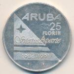 Аруба, 25 флоринов (1991 г.)