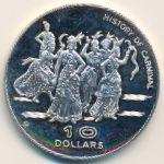 Доминика, 10 долларов (1978 г.)