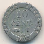 Франция, 10 сентим (1808 г.)