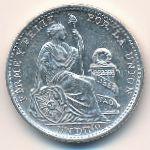 Перу, 1 динеро (1907 г.)