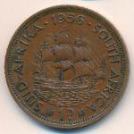 ЮАР, 1 пенни (1956 г.)