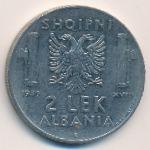 Албания, 2 лека (1939 г.)
