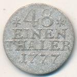Пруссия, 1/48 талера (1777 г.)