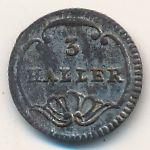 Цюрих, 3 геллера (1827 г.)
