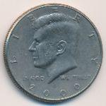 США, 1/2 доллара (2000 г.)