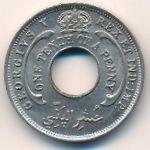 Британская Западная Африка, 1/10 пенни (1928 г.)