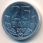 Молдавия, 25 бани (2017 г.)