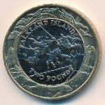 Фолклендские острова, 2 фунта (2004 г.)