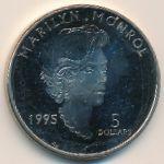 Маршалловы острова, 5 долларов (1995 г.)