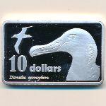 Острова Баунти, 10 долларов (2017 г.)
