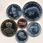 Индейское племя Чероки, Набор монет (2017 г.)