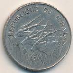 Чад, 100 франков (1971 г.)