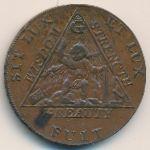 Мидлсекс, 1/2 пенни (1790 г.)
