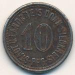 Бонн., 10 пфеннигов (1918 г.)