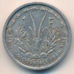 Французская Западная Африка, 1 франк (1955 г.)
