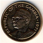 The Gambia, 1 butut, 1971–1974