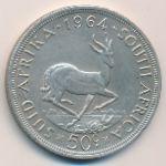 ЮАР, 50 центов (1964 г.)