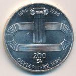 Словакия, 200 крон (1996 г.)