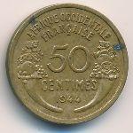 Французская Западная Африка, 50 сентим (1944 г.)