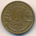 Французская Западная Африка, 1 франк (1944 г.)