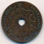 Французский Индокитай, 1 цент (1898 г.)