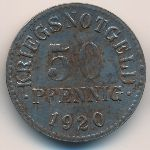 Брауншвейг., 50 пфеннигов (1920 г.)