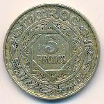Марокко, 5 франков (1951 г.)