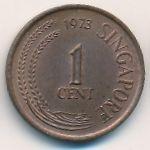 Сингапур, 1 цент (1973 г.)