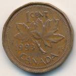 Канада, 1 цент (1991–1996 г.)