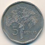 Сейшелы, 5 рупий (1997 г.)