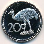 Папуа - Новая Гвинея, 20 тоа (1975 г.)