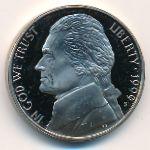 США, 5 центов (1999 г.)