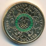 Австралия, 2 доллара (2016 г.)