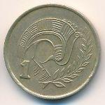 Кипр, 1 цент (1987 г.)