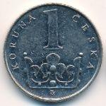 Чехия, 1 крона (1993 г.)