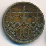 Чехословакия, 10 гелеров (1934 г.)